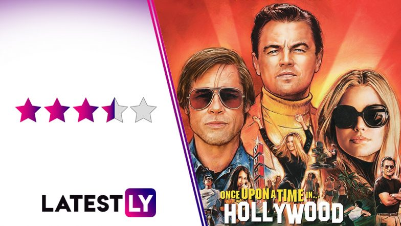 Once Upon a Time in Hollywood Movie Review: Leonardo DiCaprio, Brad Pitt Indulge in a Zany Bromance in Quentin Tarantino's Darkly Delightful Ode to Cinema