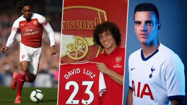 Football Transfer News: Alex Iwobi, David Luiz, Giovani Lo Celso & Other Confirmed Signings on Premier League Deadline Day 2019