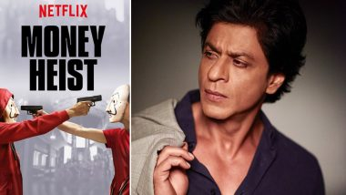 Will Shah Rukh Khan Produce and Star in the Hindi Film Adaptation of Spanish Series Money Heist?
