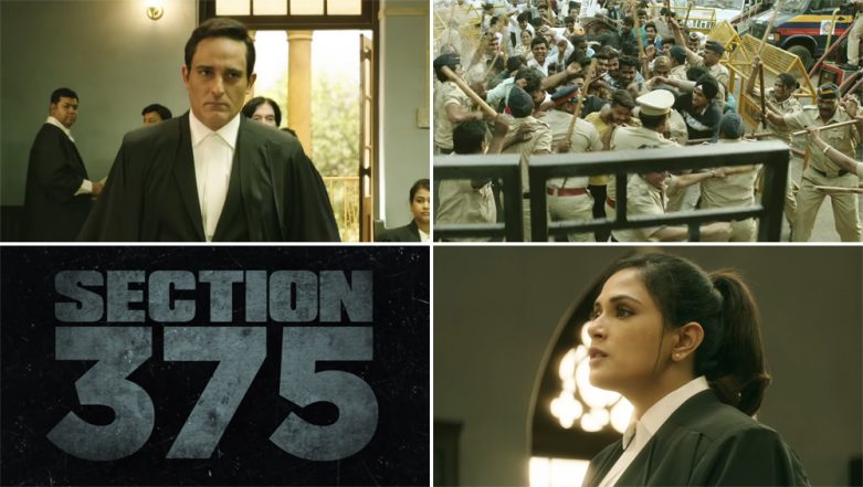 Section 375 Movie Review: Akshaye Khanna and Richa Chadha's Courtroom Drama Leave Critics Mighty Impressed!