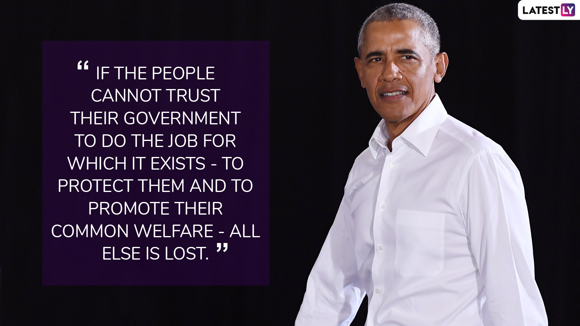 Former US President Barack Obama quotes. (Photo Credit: File)