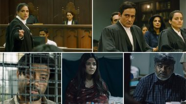 Section 375 Trailer: Richa Chadha and Akshaye Khanna's Courtroom Drama Raises the Right Questions in the Time of MeToo (Watch Video)