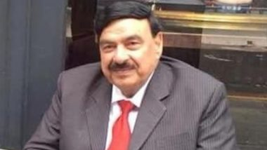 Pakistan Railway Minister Sheikh Rashid Ahmed Pelted with Eggs, Punched in UK