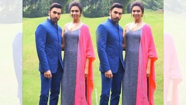 Fans Speculate Deepika Padukone's Baby Bump As She Poses with Hubby Ranveer Singh – View Pic
