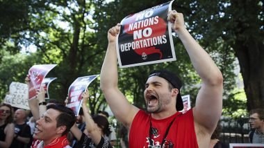 US Environmental Activists Launch Month-Long Protests Against Immigration Policy