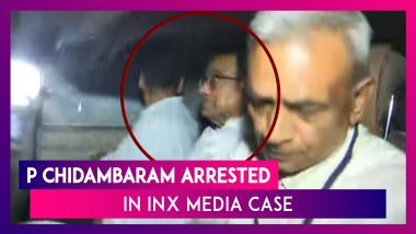 P Chidambaram Arrested In INX Media Case, Son Karti Says Arrest A 'Political Witch Hunt'