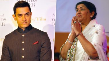 Lata Mangeshkar and Aamir Khan Donate for Maharashtra Flood Relief Fund