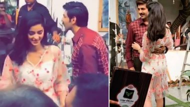 Pati Patni Aur Woh: Kartik Aaryan and Ananya Panday are All Smiles as They Shoot for a Romantic Scene - Watch Leaked Video!
