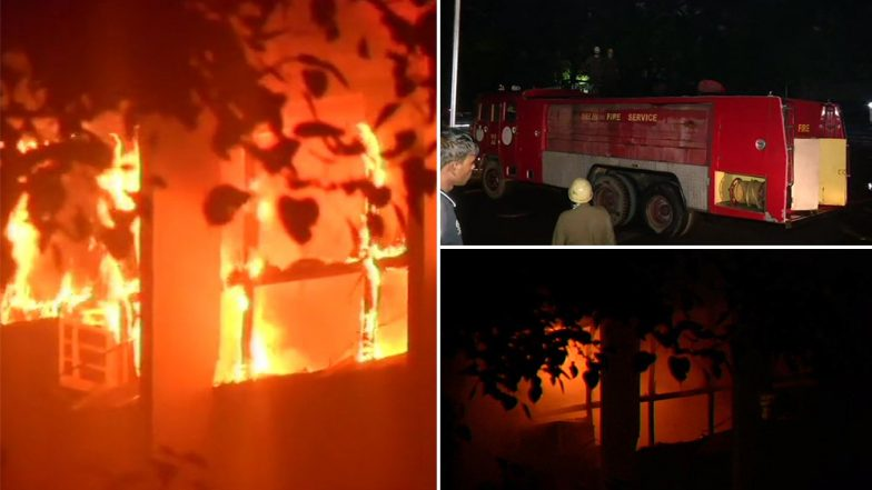 AIIMS Fire: Flames Engulf Fifth Floor of Hospital, Arun Jaitley's Ward Safe, Says Doctors at Premier Medical Facility