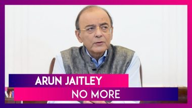 Arun Jaitley Dies Aged 66: Former Union Minister & Senior BJP leader Passes Away at AIIMS
