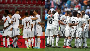AS Roma vs Real Madrid Free Live Streaming Online and Match Time in IST: How to Get Live Telecast on TV & Football Score Updates of Club Friendlies Football Match in India?