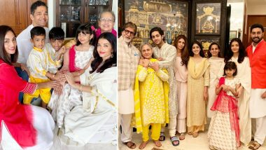 These Pics of Aishwarya Rai Bachchan and Her Family Celebrating Raksha Bandhan 2019 Is Filled With Love and Happiness!