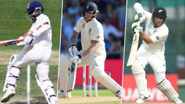 Cricket Week Recap: From Ben Stokes' Carnage to Ajinkya Rahane's Fine Century to Tom Latham's Masterclass, a Look at Finest Individual Performances