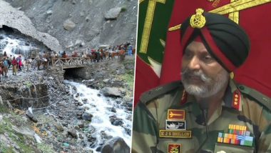 Amarnath Yatra 2019: Pakistani Army Trying to Disrupt Peace in Kashmir and Target Sacred Route, Says Indian Army