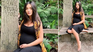 Amy Jackson Shares a New Picture from Her Third Trimester and Has a Special Message for all To-Be Moms