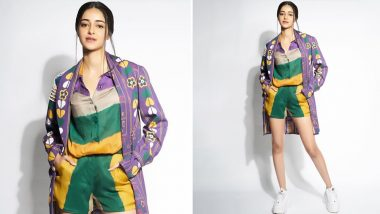Yo or Hell No! Ananya Panday's Colourful Affair by Saaksha & Kinni