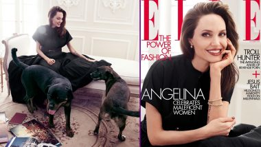 Angelina Jolie Roots for 'Wicked Women' Who Don't Follow Rules, Maleficent Star Dazzles on the Cover of ELLE