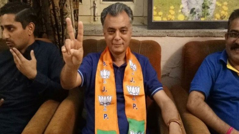 BJP Expels Former Himachal Pradesh Minister Anil Sharma After Son Fought Lok Sabha Elections 2019 on Congress Ticket