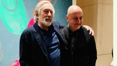 Robert De Niro Greatest Actor on Earth, Says Anupam Kher