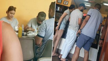 Anushka Sharma and Virat Kohli Munch on Desi Food at an Eatery in Guyana and the Pictures Are Sweet!