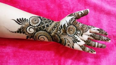 Latest Mehndi Designs for Eid Al-Adha 2019: Arabic Mehandi Patterns to Indian Henna Designs, Here Are Simple Mehndi Types to Apply on Bakrid