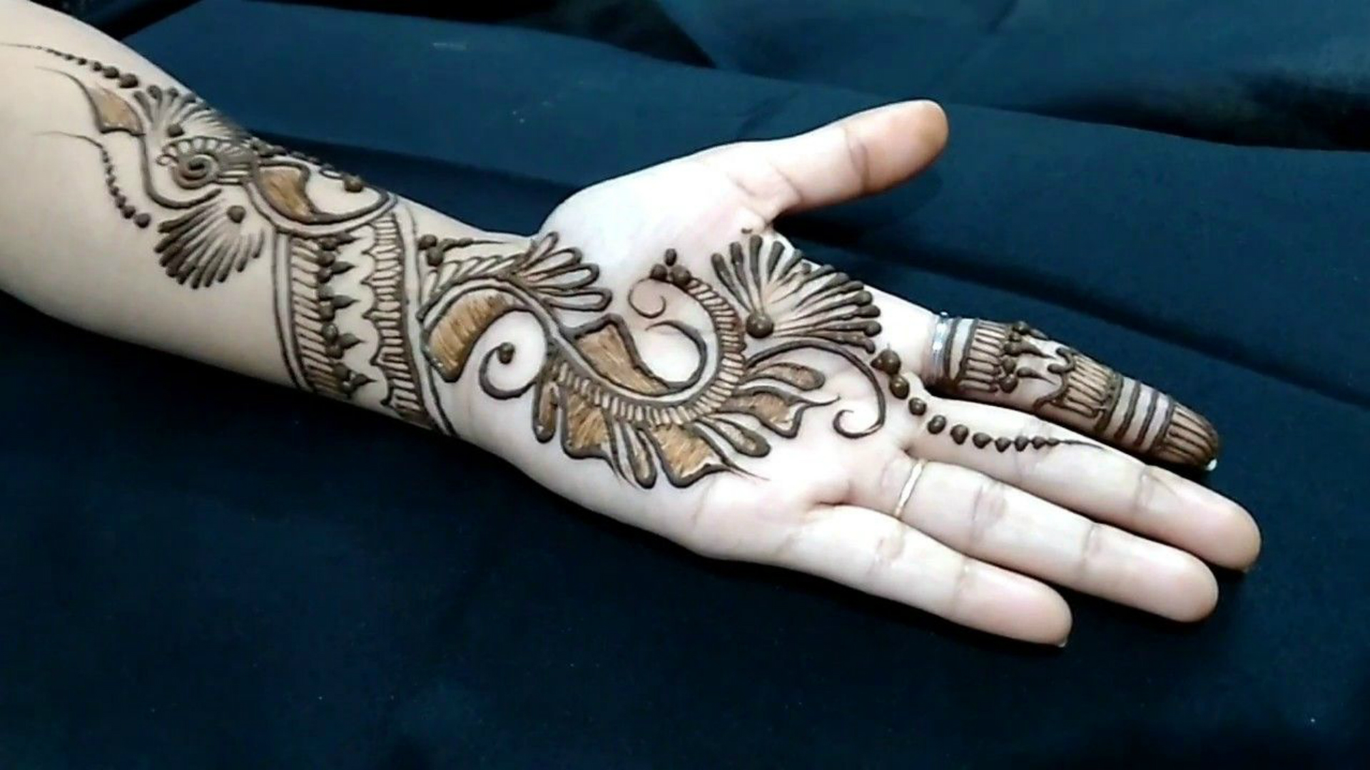 Easy Mehndi Designs And Patterns For Raksha Bandhan 2019