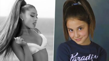 Ariana Grande Rocked a High Ponytail Even as a Kid! Singer Shares Throwback Pic from Childhood on Instagram