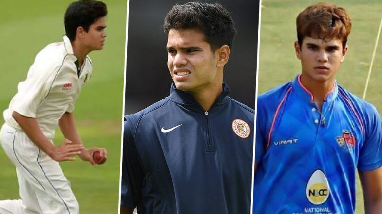 Arjun Tendulkar To Play for Mumbai in Vizzy Trophy 2019: List of Cricket Tournaments Sachin Tendulkar's Son Played So Far