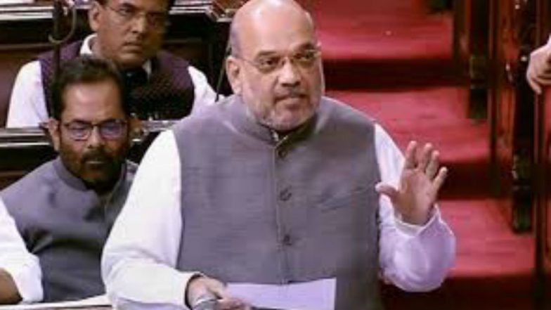 Jammu and Kashmir Bifurcated, Article 370 Scrapped: Amit Shah Leads The Charge From Introducing Resolutions to Countering Opposition, Overshadows PM Narendra Modi