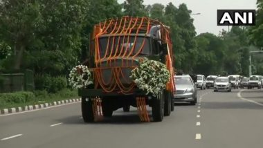 Arun Jaitley Funeral: Final Journey Begins from BJP Office to Nigambodh Ghat