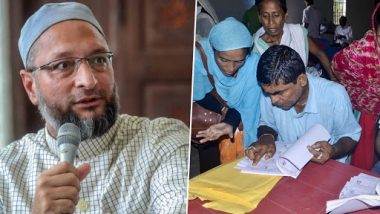Asaduddin Owaisi Slams Narendra Modi Govt Over Assam NRC Final List, Says 'Myth of Illegal Migrants Has Been Busted'