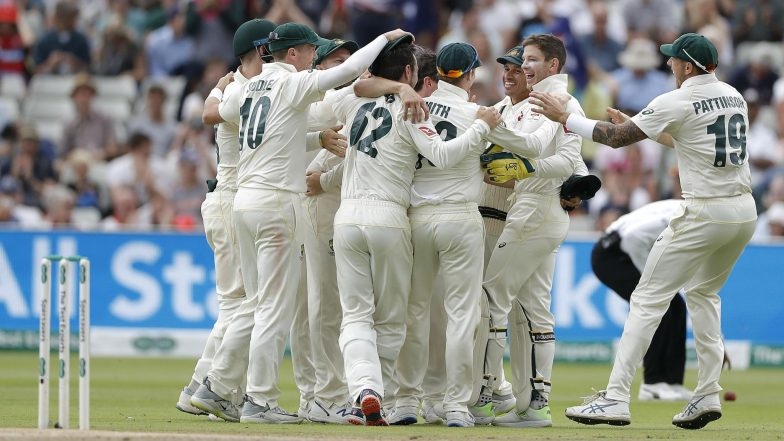 Ashes 2019 First Test Match Report: Nathan Lyon, Pat Cummins Combine to Hand Australia Rare Edgbaston Win Over England, Take 1-0 Lead
