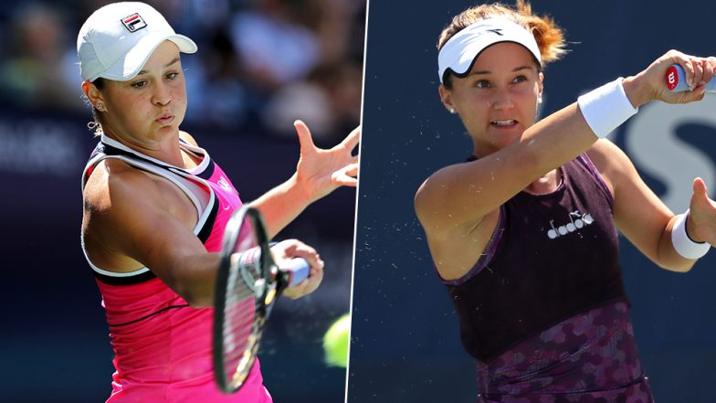 US Open 2019: Ashleigh Barty beats fearless Lauren Davis