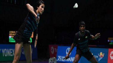 Thailand Open 2019: Ashwini Ponnappa, Satwiksairaj Rankireddy Proceeds to Quarter-Finals