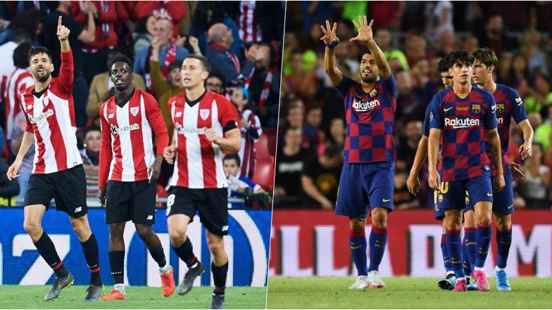 Athletic Bilbao vs Barcelona, La Liga 2019 Free Live ...