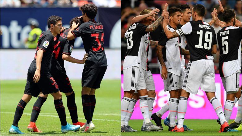 Atletico Madrid vs Juventus, International Champions Cup 2019 Free Live Streaming Online: How to Get Live Telecast on TV & Football Score Updates of Pre-Season Friendly Football Match in Indian Time?