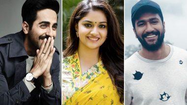 National Film Awards 2019: Ayushmann Khurrana, Vicky Kaushal and Keerthy Suresh Win Best Actor Award!