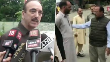 Ghulam Nabi Azad's 'Money Power' Jibe on NSA Ajit Doval's Lunch With Locals in Kashmir's Shopian; Watch Video