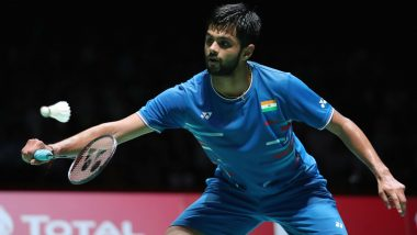 B Sai Praneeth Ruled Out of Korea Open 2019, Indian Badminton Player Sustains Injury in First-Round Against Anders Antonsen