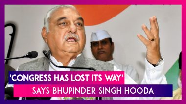 Bhupinder Singh Hooda Supports Modi Government On Article 370, Says Congress Has Lost Its Way
