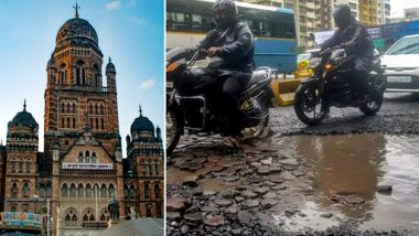 BMC Claims to Have Filled 84% Potholes in Mumbai, Says 'Only 414 Potholes Left in Megacity'