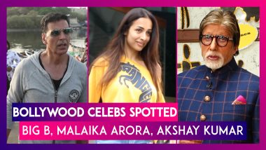 Bollywood Celebs Spotted: Amitabh Bachchan, Malaika Arora, Akshay Kumar & Others Seen In The City