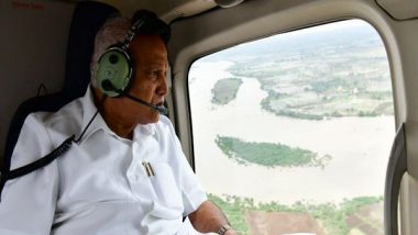 Karnataka Floods: CM BS Yediyurappa Asks Centre to Immediately Release Rs 10, 000 Crore