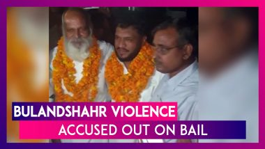 Bulandshahr Violence: Out On Bail, Accused Get Heroes' Welcome With Chants Of 'Jai Shri Ram'