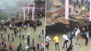 Bagwal, Stone Pelting Festival, Held in Uttarakhand to Appease Goddess Barahi on Raksha Bandhan; Over 100 Revellers Injured - View Pics