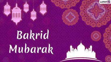 Happy Eid al-Adha 2019 Wishes: WhatsApp Stickers, Bakra Eid Mubarak GIF Images, Greetings, SMS, Shayari, Messages to Send on Bakrid