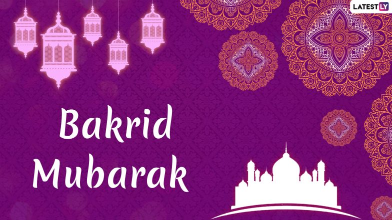 Happy Eid al-Adha 2019 Wishes: WhatsApp Stickers, Bakra Eid Mubarak GIF Images, Greetings, SMS, Shayari, Messages to Send on Bakrid
