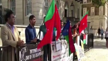 Baloch Hold Anti-Pakistan Protest to Demand Release of Disappeared Activists