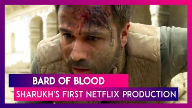 Shahrukh Khan's First Netflix Production Bard Of Blood Trailer Out