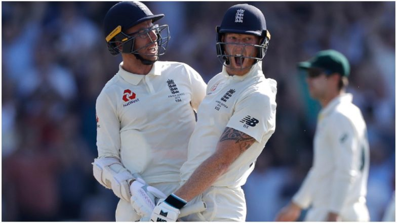 Sensational Ben Stokes Single-Handedly Drags England to Victory in 3rd Ashes 2019 Test; Twitter Bows Down to Another Majestic Innings From their 'Hero'